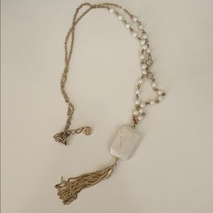 Lilly Pulitzer long tassel necklace